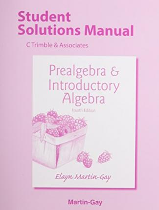Introductory Algebra Martin Gay 111