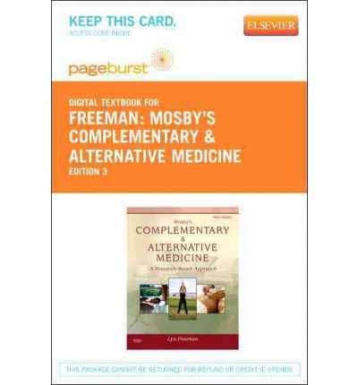 Mosby's Complementary & Alternative Medicine - Elsevier eBook on Vitalsource (Retail Access Card)