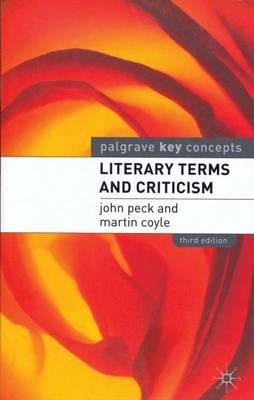 Literary Terms And Criticism Download Pdf Mon Premier Blog