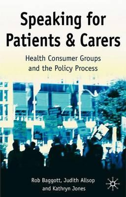 Speaking for Patients and Carers