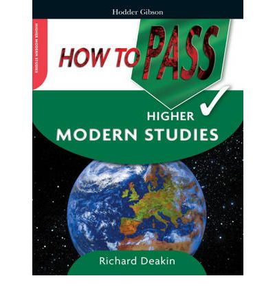 How to Pass Higher Modern Studies