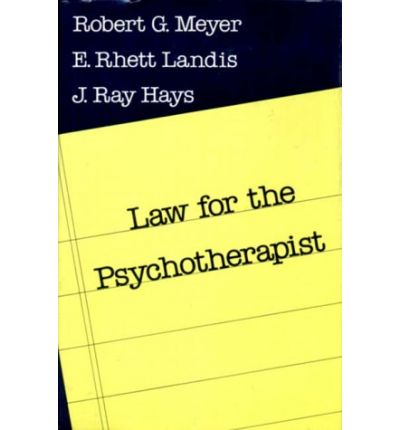 Law for the Psychotherapist