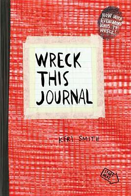 Wreck This Journal (Red)