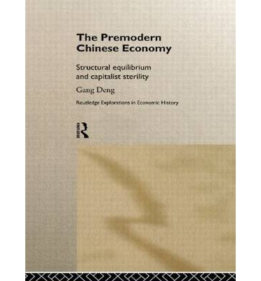 The Premodern Chinese Economy