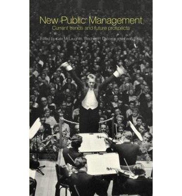 new public sector management Public management vs private management however management in the public sector is defined and delineated, it differs from corporate management in several important ways.