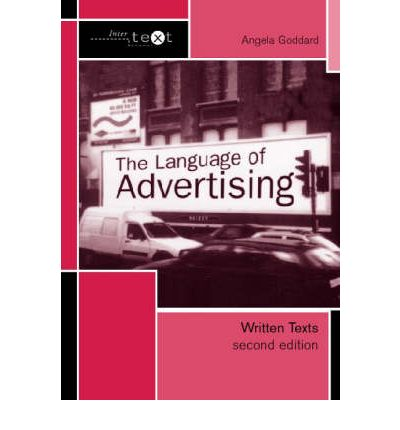 language of advertising A successful advertisement creates a desire in viewers, listeners or readers with so many products and service providers in the marketplace, using a proven technique in your advertising.