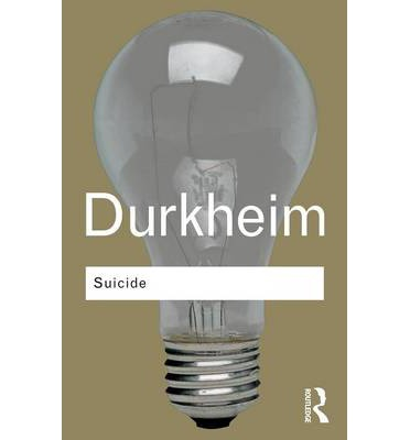 sociology suicide Pdf | since durkheim's classic work on suicide, sociological attention to understanding the roots of self-destruction has been inconsistent in this review, we use three historical periods of .