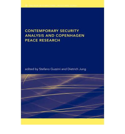 Ebook free download deutsch pdf Contemporary Security Analysis and Copenhagen Peace Research PDF DJVU by Stefano Guzzini,Dietrich Jung"