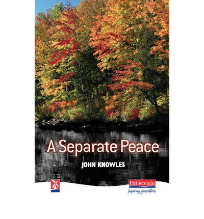In A Separate Peace by John Knowles, how specifically is Leper affected or impacted by the war?