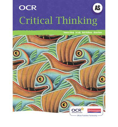 critical thinking as level ocr revision As-level critical thinking ocr complete revision & practice includes multiple choice exam practice c by cgp books 9781847625991 (paperback, 2011) delivery uk delivery.