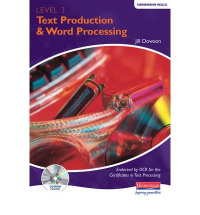 Text Production Word Processing Level 3 Student Pack