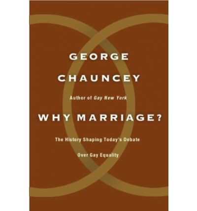 chauncey gay singles After the 1960s, it would seem, gay men and lesbians were suddenly  york,  george chauncey (1994) discusses the rich gay male community that existed in.