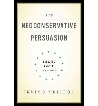 The Moral Realism of Irving Kristol