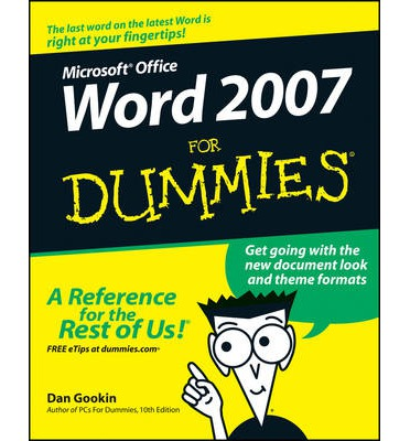 Word 2007 For Dummies