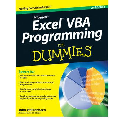 Scribd book downloader Excel VBA Programming for Dummies