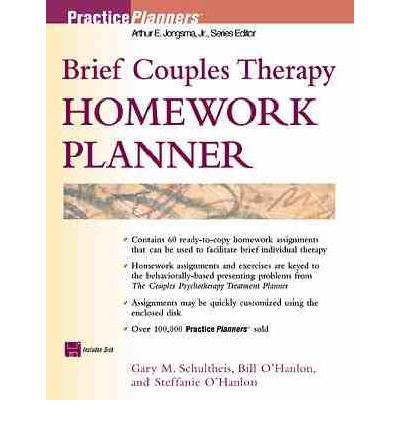 couples therapy homework planner pdf