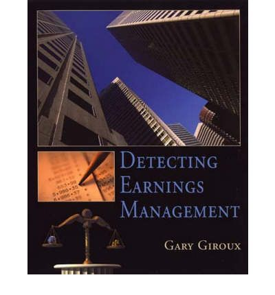 ethics in earnings management Book description: ethical issues in the context of earnings management have been increasingly recognized as an important and controversial topic in accounting research.