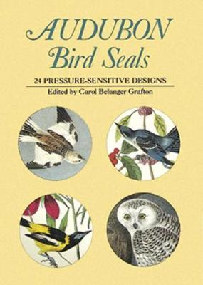 Audubon Bird Seals : 24 Pressure-Sensitive Designs
