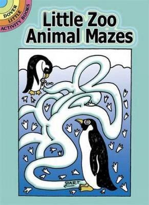 Little Zoo Animal Mazes