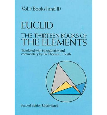 The Thirteen Books of the Elements: Volume 1