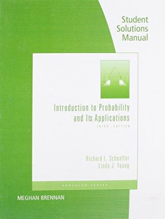 linda young introduction to probability and its applications