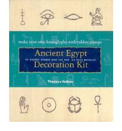 Ancient egypt decoration kit jennifer carson 9780500510018 for Ancient egypt decoration