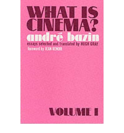 What is Cinema?: v. 1