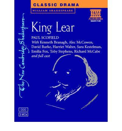 king lear dramatic structure