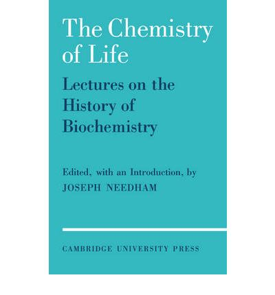 """Téléchargez des livres pdf gratuitement en ligne The Chemistry of Life : Eight Lectures on the History of Biochemistry 0521088852 by Joseph Needham""""  in French iBook"""