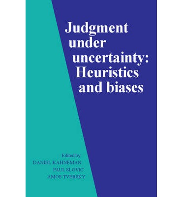 Judgment under Uncertainty