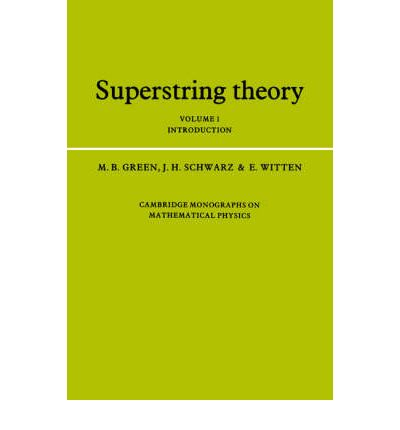 Superstring theory green schwarz witten pdf