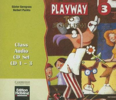 Playway to English 3 Class Audio CD