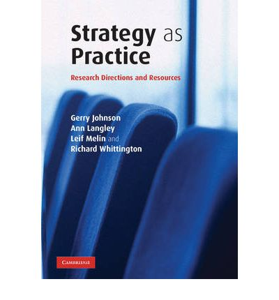 Strategy as Practice