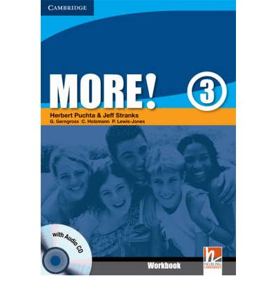 More! Level 3 Workbook with Audio CD: Level 3