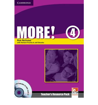 More! Level 4 Teacher's Resource Pack with Testbuilder CD-ROM/Audio CD: Level 4