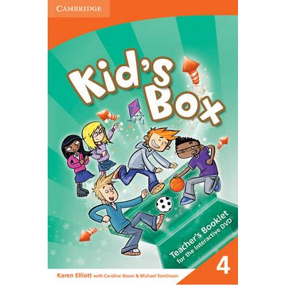 Kid's Box Level 4 Interactive DVD (NTSC) with Teacher's Booklet: Level 4