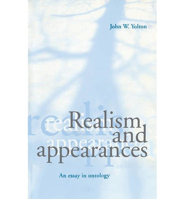 appearance essay in ontology realism