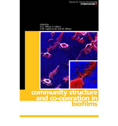 Community Structure and Co-operation in Biofilms