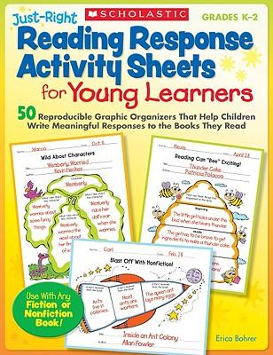 Just-Right Reading Response Activity Sheets for Young Learners, Grades K-2