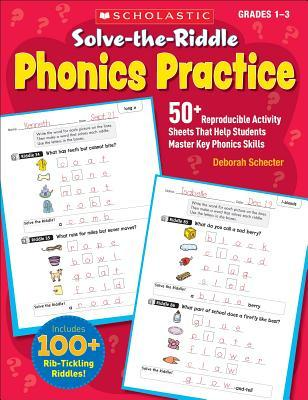 Solve-The-Riddle Phonics Practice, grades 1-3