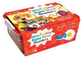 Nonfiction Sight Word Readers Classroom Tub Level a : Teaches the First 25 Sight Words to Help New Readers Soar!