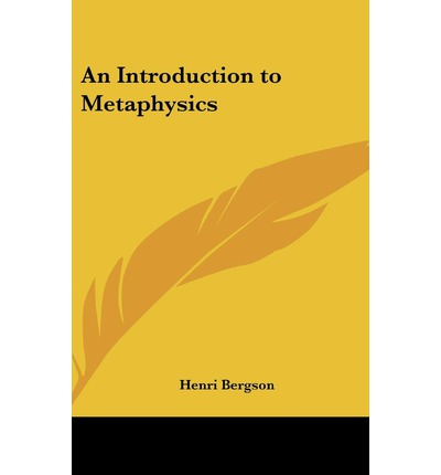 Introduction to Metaphysics (Bergson)