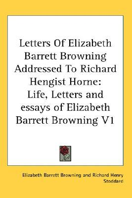 elizabeth barrett browning research paper Elizabeth barret browning essay elizabeth barrett browning was a plain woman of the victorian era that was most remarkably robert browning research paper.