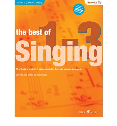 The Best Of Singing Grades 1-3 (High Voice)