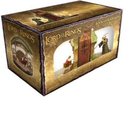 The lord of the rings book and bookends gift set j r r tolkien 9780618401215 - Lord of the rings bookends ...