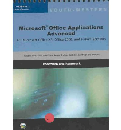 Microsoft office applications pasewark and pasewark 9780619055004 - Office software applications ...