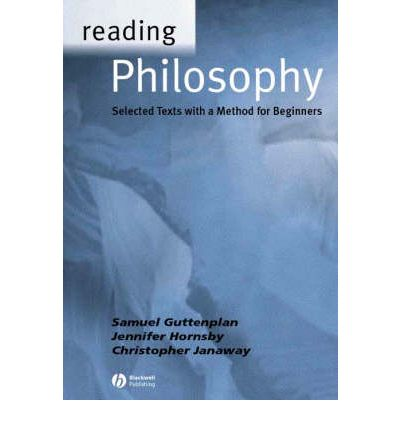 Reading Philosophy: An Introductory Text with Readers