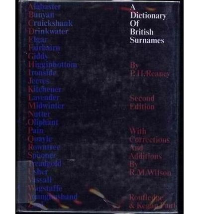Dictionary of British Surnames