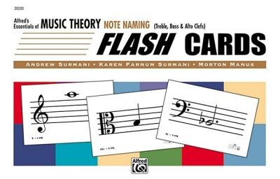 Alfred's Essentials of Music Theory : Note Naming Flash Cards, Flash Cards