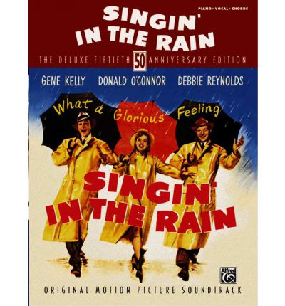 Singin' in the Rain : Piano/Vocal/Chords